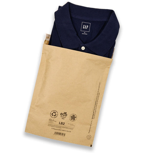 kraft paper mail bag eco friendly lil bag