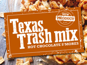 Texas Trash Mix Hot Chocolate Flavor
