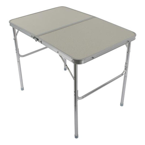90x60x70cm Outdoor Aluminum Alloy Folding Table Desk for Family Reunions Picnics Camping Trips