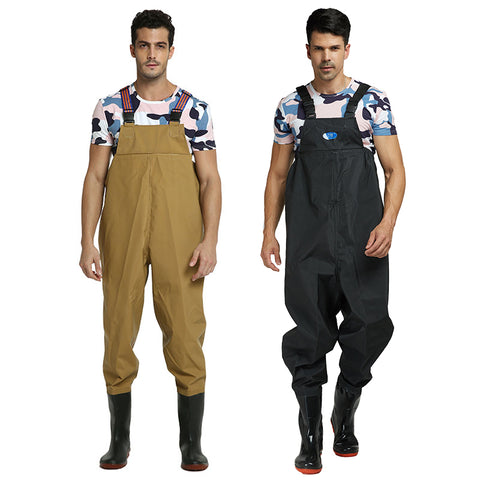 Ultra light Rubber Fishing Wader Breathable Chest Waders Outdoor Fishing boots Respirant Fish Overalls Fly Fishing KU003