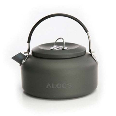 Alocs CW-K03 CW-K02 Outdoor Kettle Camping Picnic Water Teapot Coffee Pot 1.4L 0.8L  Aluminum Camping Tableware Hot Dropshipping