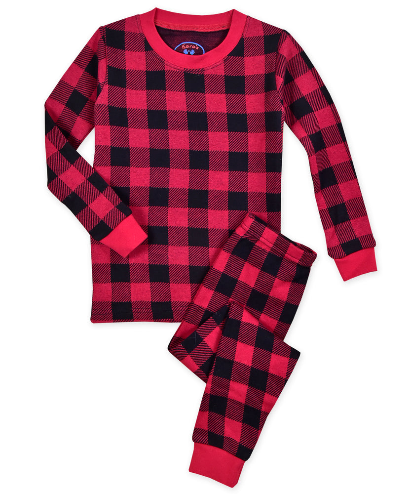 Buffalo Plaid Pajama Set