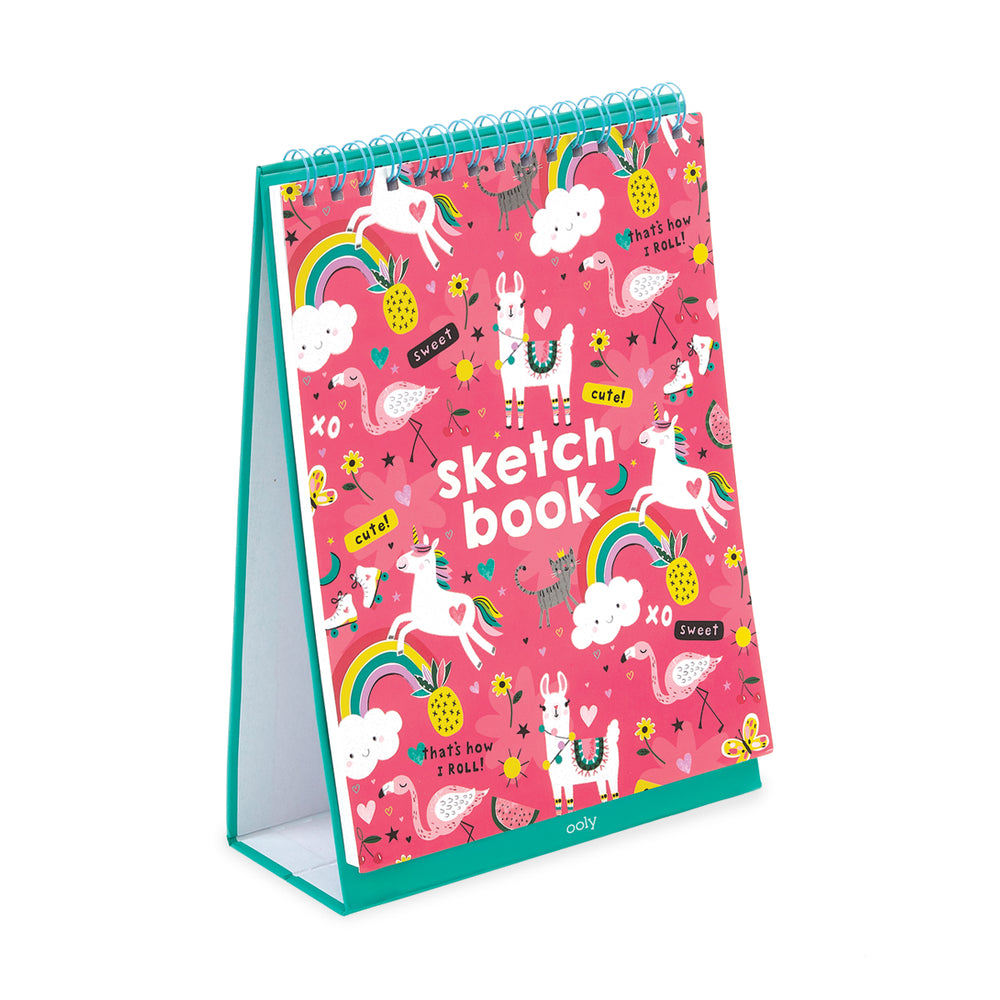 Sketch & Show Standing Sketchbook - Funtastic Friends