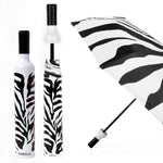 Zebra Bottle Umbrella