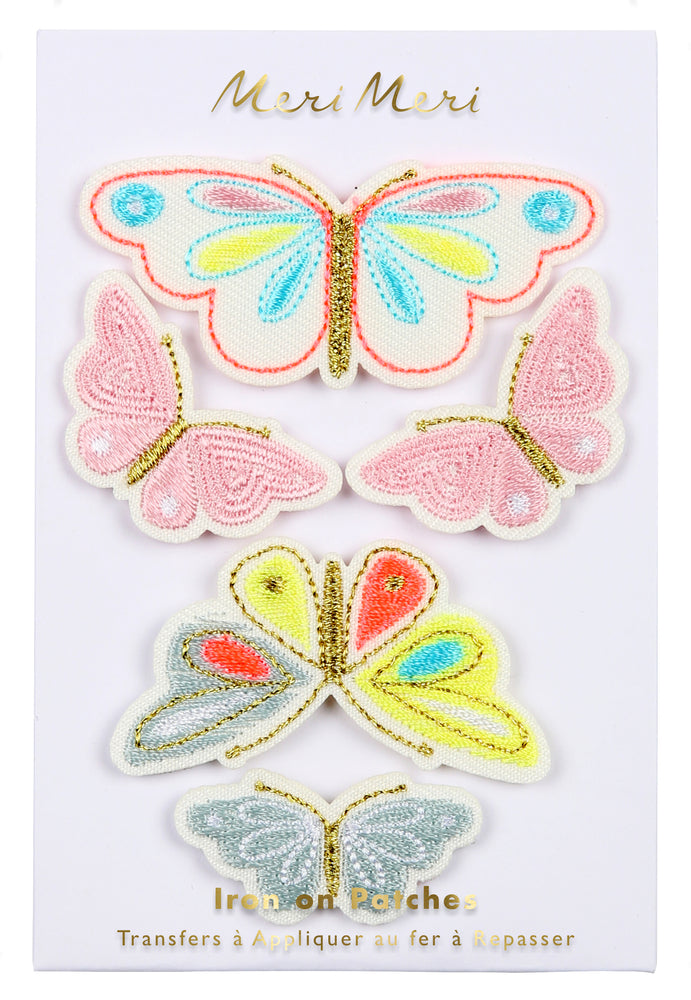 Butterfly Iron-On Patches