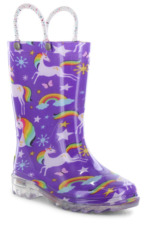 Rainbow Unicorn Rain Boot