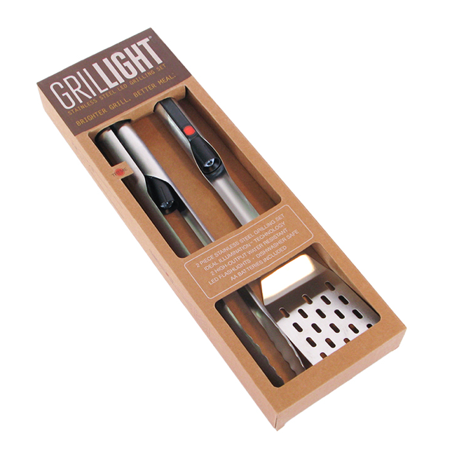 Deluxe 2 Piece LED Utensil Set