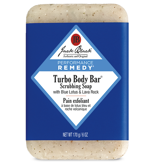 Turbo Body Bar® Scrubbing Soap with Blue Lotus & Lava Rock