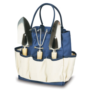 Large Garden Tote w/3pc Tools