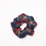 Plaid Scrunchie