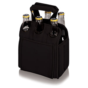Six Pack Cooler Tote - Black