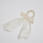 Children's Pearl and Tulle Bracelet