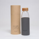 Water Bottle with Bamboo Lid - So Loved