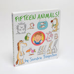 Fifteen Animals!, By Sandra Boynton