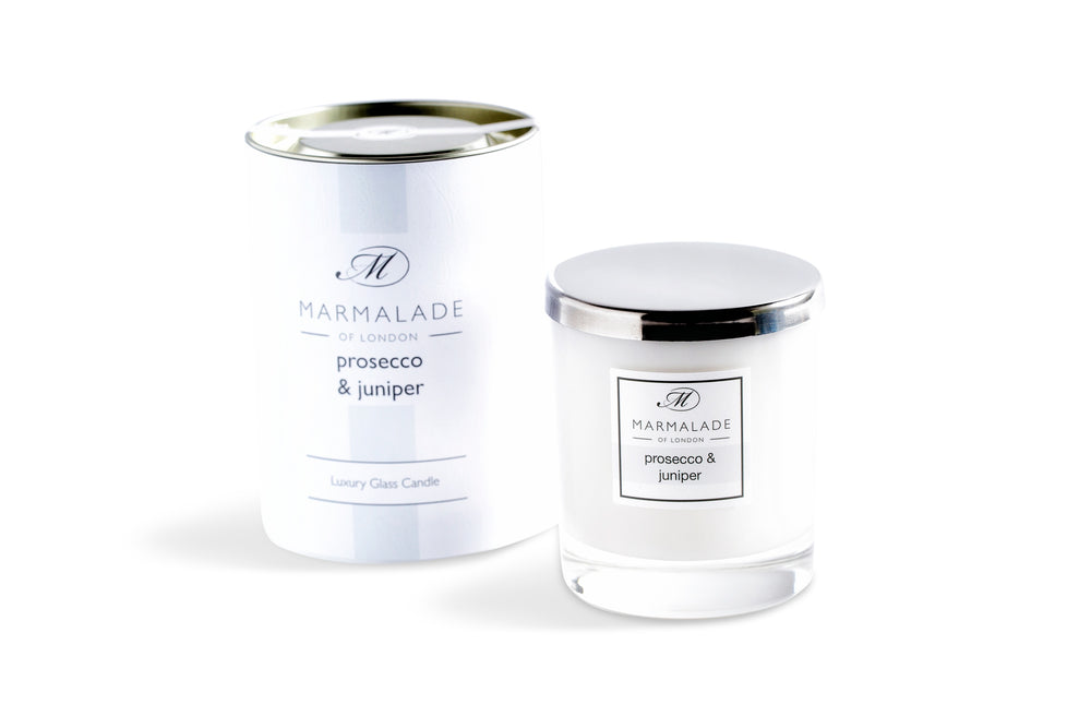 Prosecco & Juniper Glass Candle