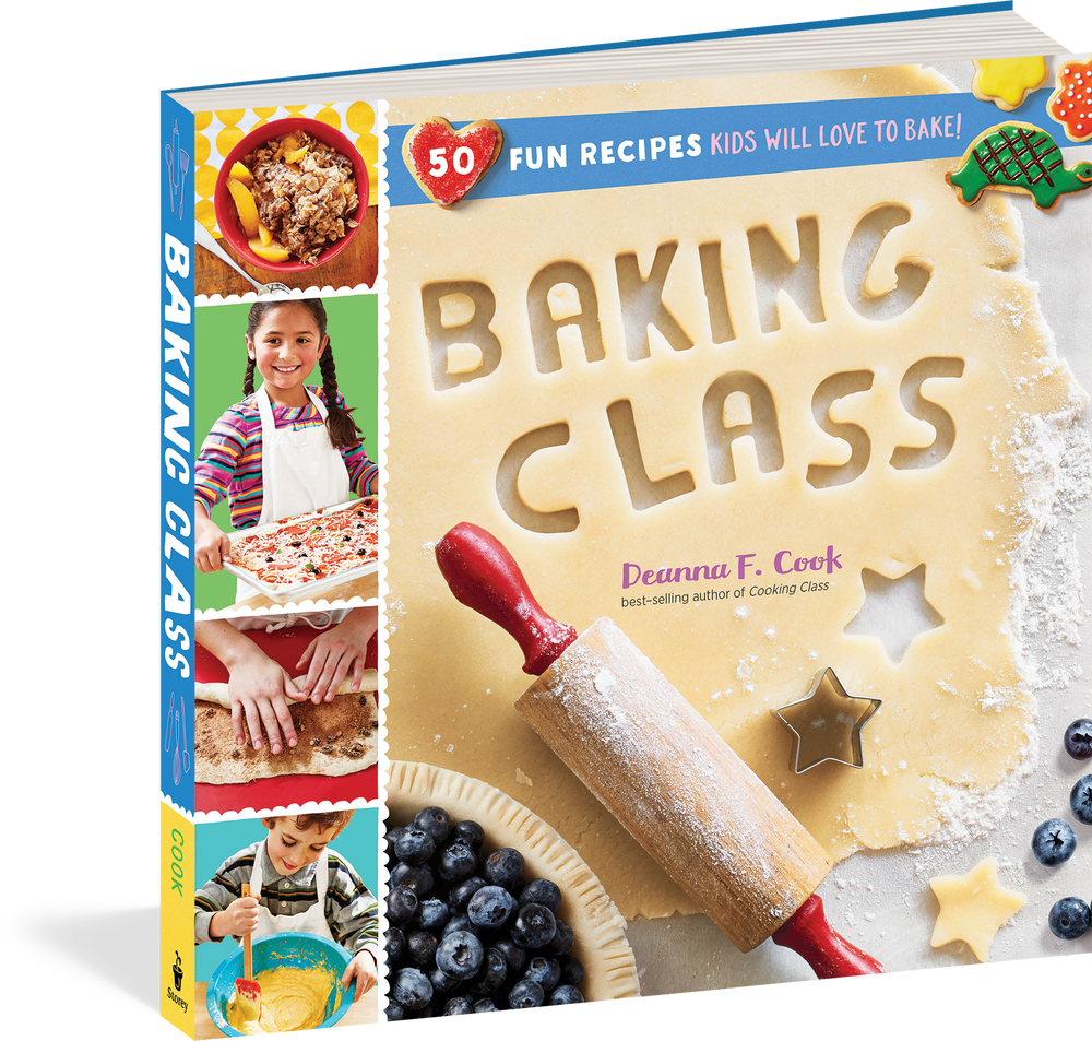 Baking Class: 50 Fun Recipes Kids Will Love to Bake! by Deanna F. Cook