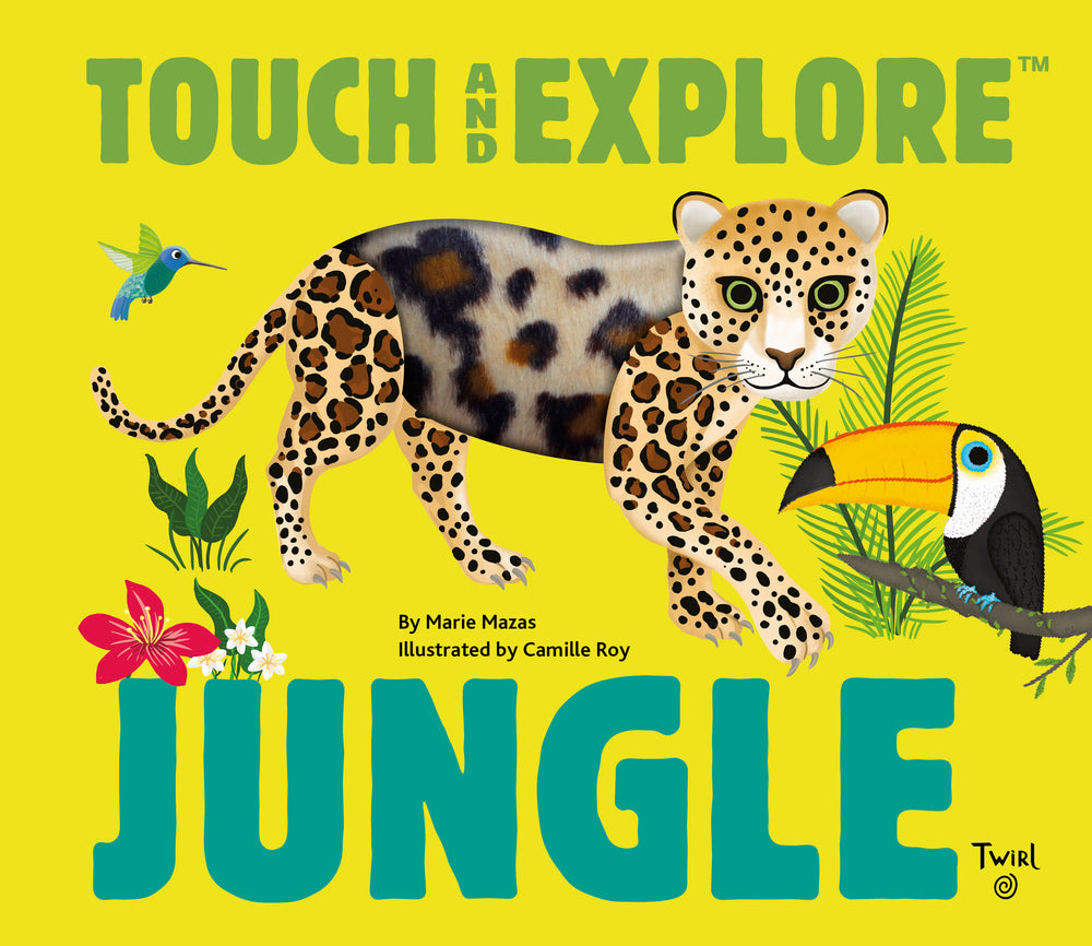 Touch and Explore: Jungle Animals by Maria Mazas