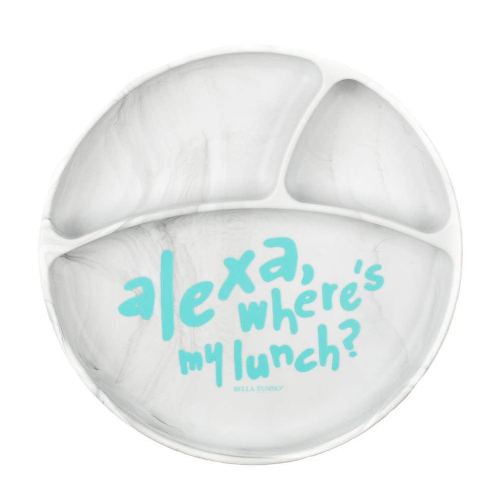 """Alexa, Where's My Lunch?"" Wonder Plate"