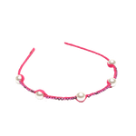 Alice Headband with Pearls