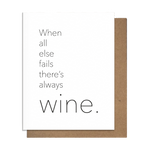 Always Wine Card