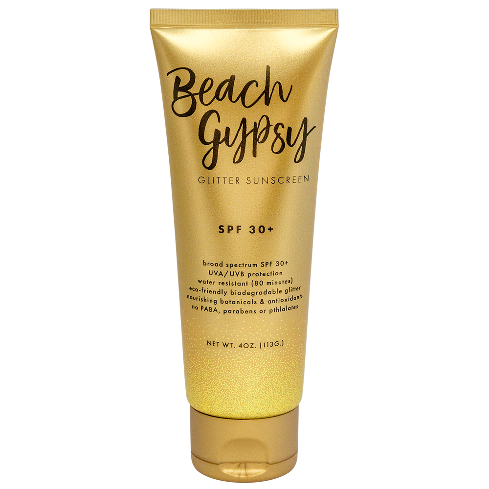 Beach Gypsy Glitter Sunscreen - SPF 30+