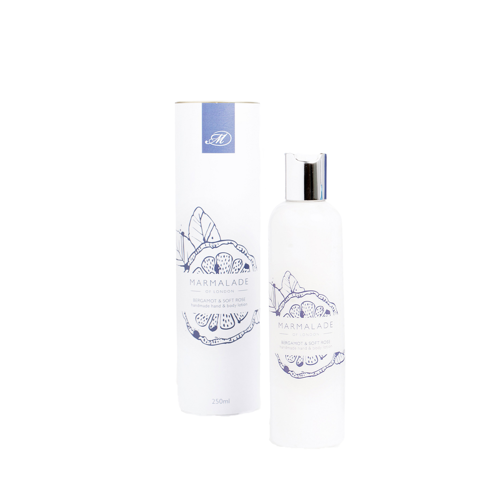 Bergamot & Soft Rose Body Lotion