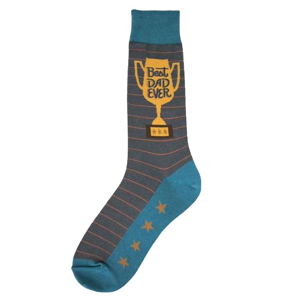 Best Dad Trophy Socks