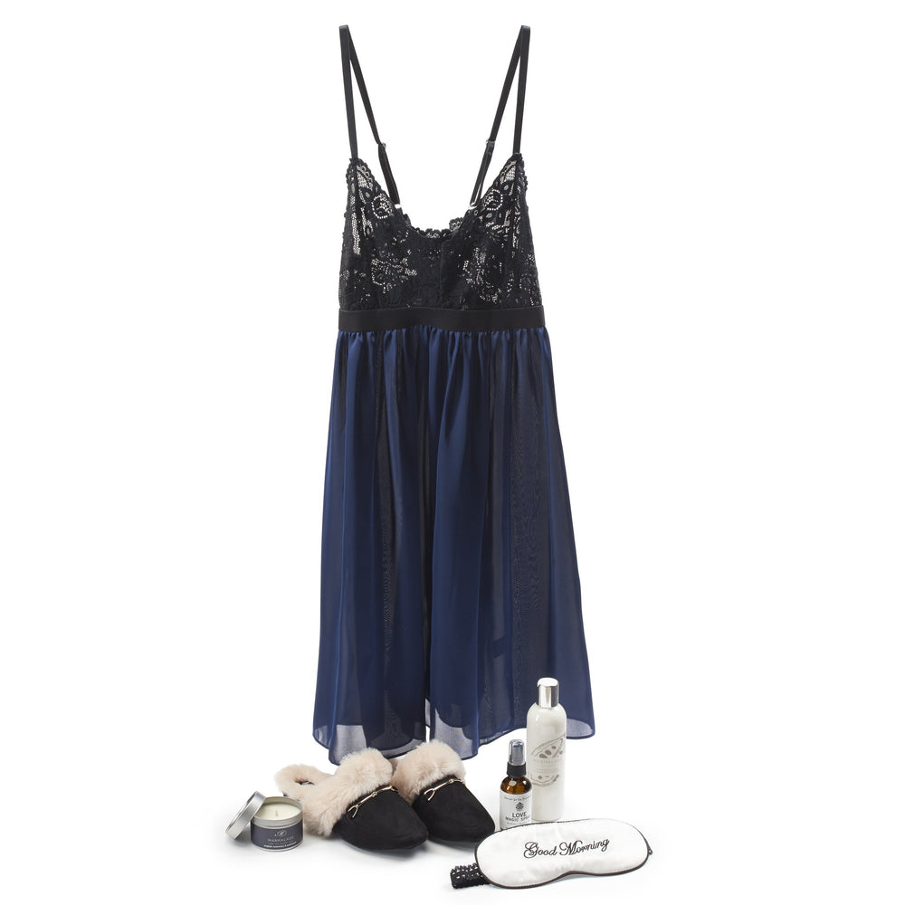 Romance & Relaxation - Blue/Black