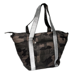 Camo Nylon Quilted Tote Bag