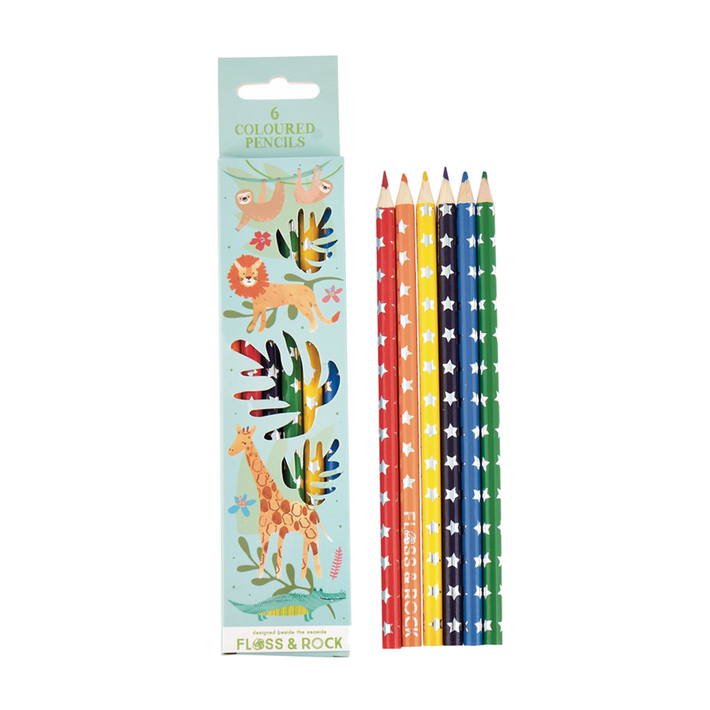 Colored Pencils - Pack of 6
