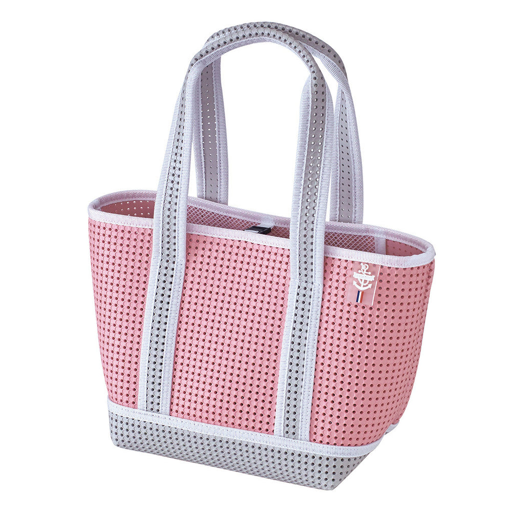 Mini Two Tone Waterproof Tote Bag