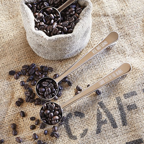 Rise and Grind Coffee Scoop