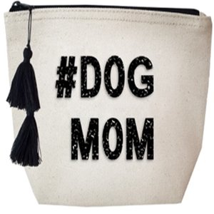 #Dog Mom Crystal Cosmetic Case