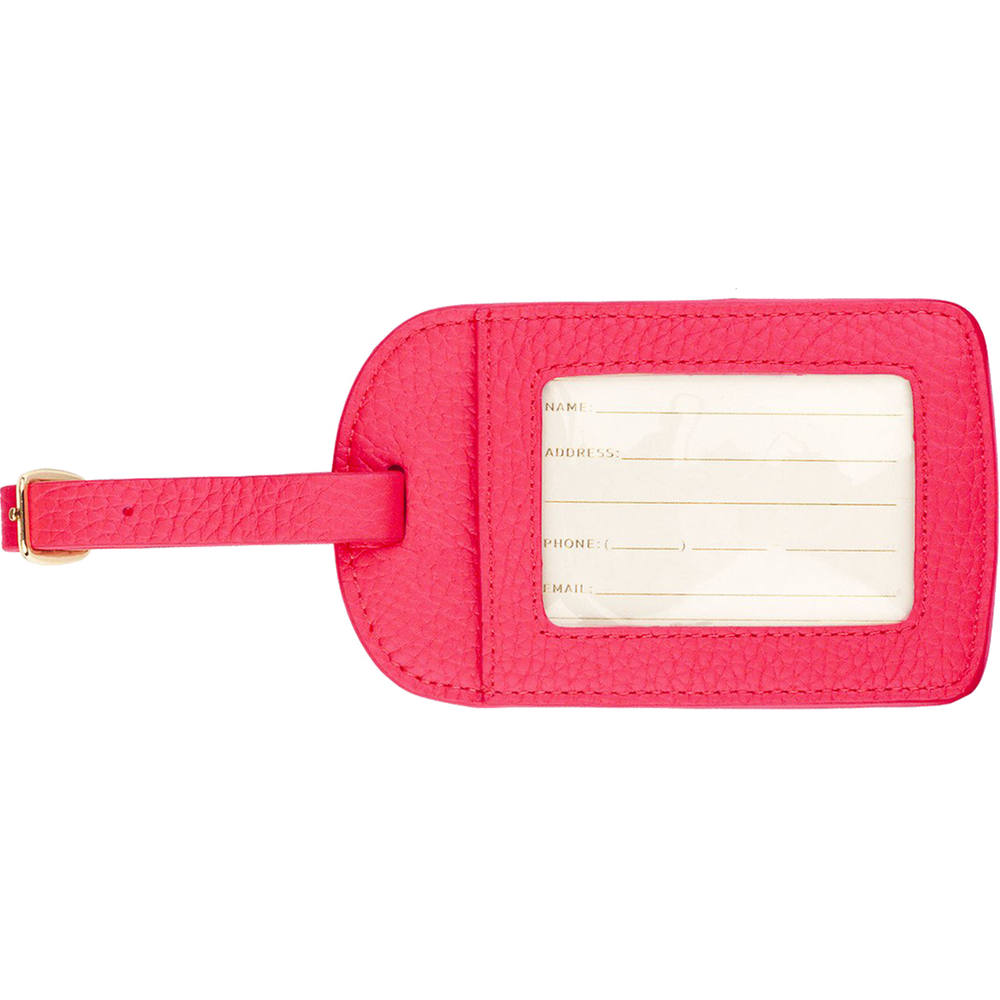 """Escape"" Amelia Leather Luggage Tag"