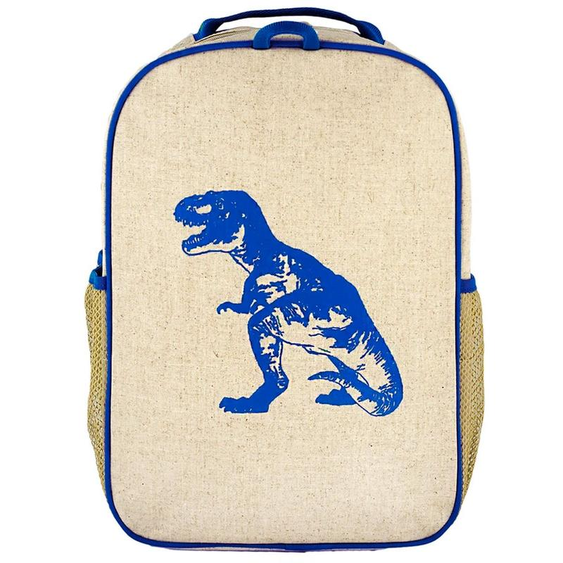Blue Dino Grade School Backpack