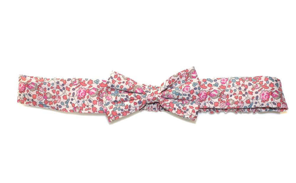 Liberty Eloise Baby Bow Headband