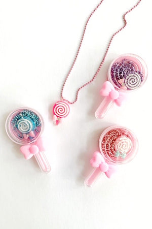 Lollipop Necklace in a Trinket box