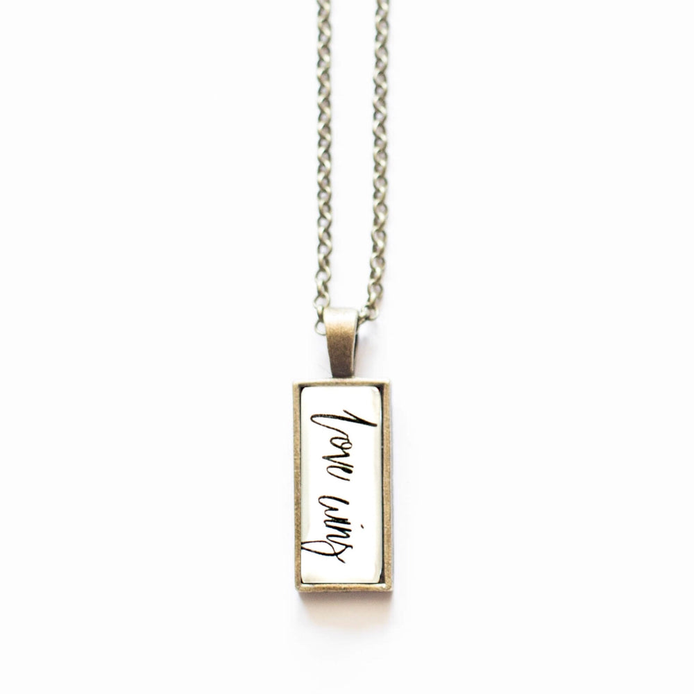 Love Wins Necklace