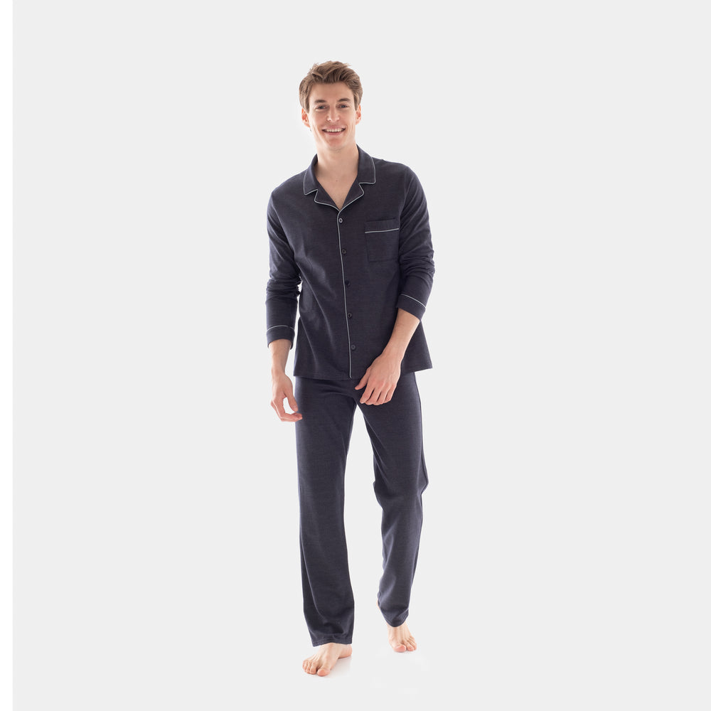 Jacquard Knit Pajama Set