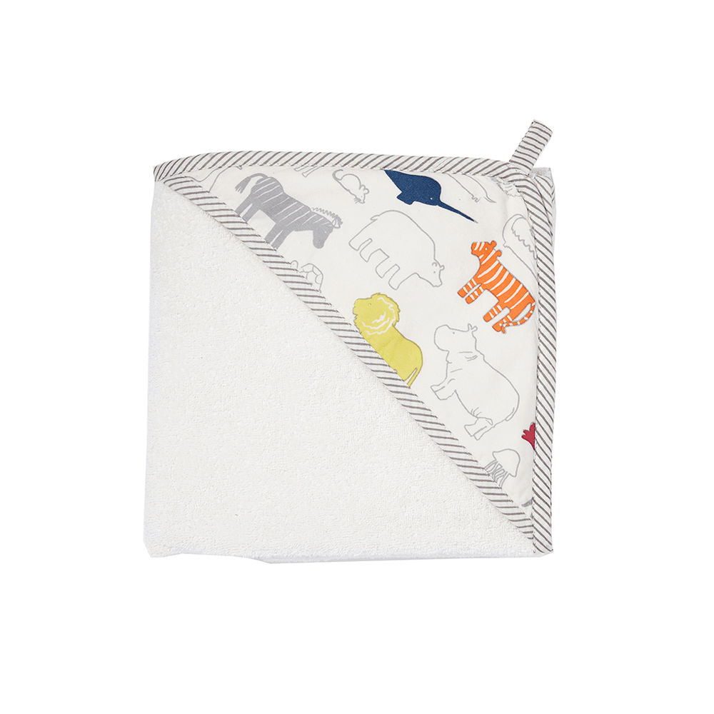 Noah's Ark Hooded Towel