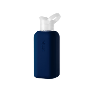 Squireme Glass Bottle with Silicone Sleeve