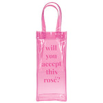 Rose Wine Bag