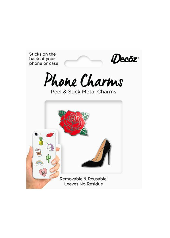Rose Phone Charms Pack