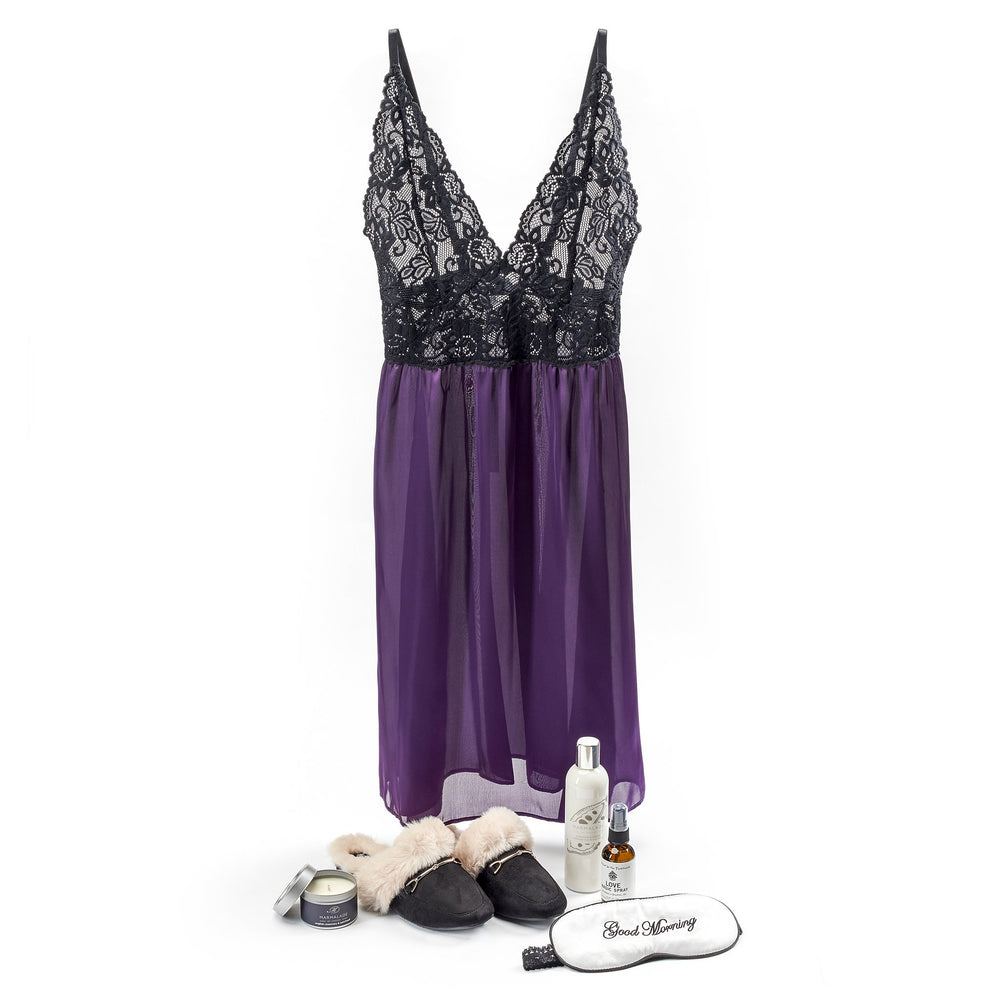 Romance & Relaxation - Purple/Black