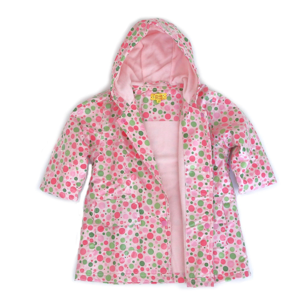 Candy Dot Rain Coat