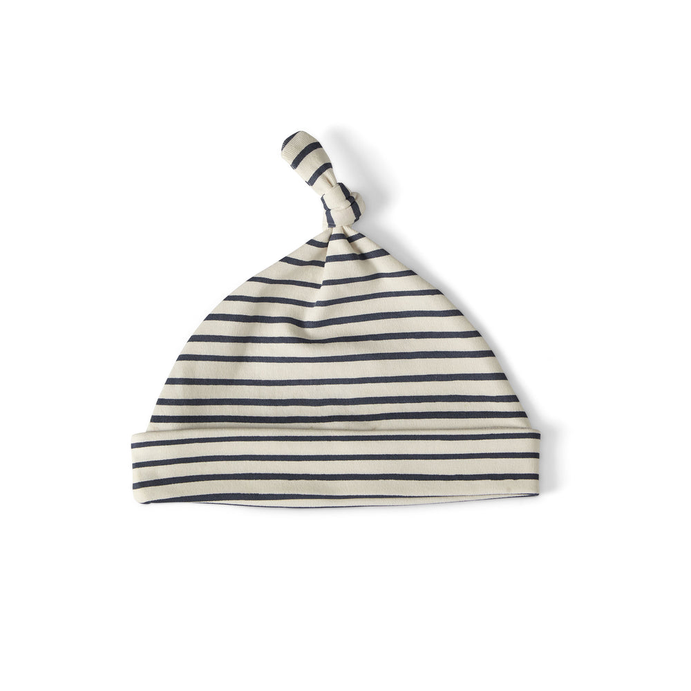 Stripes Away Knot Hat