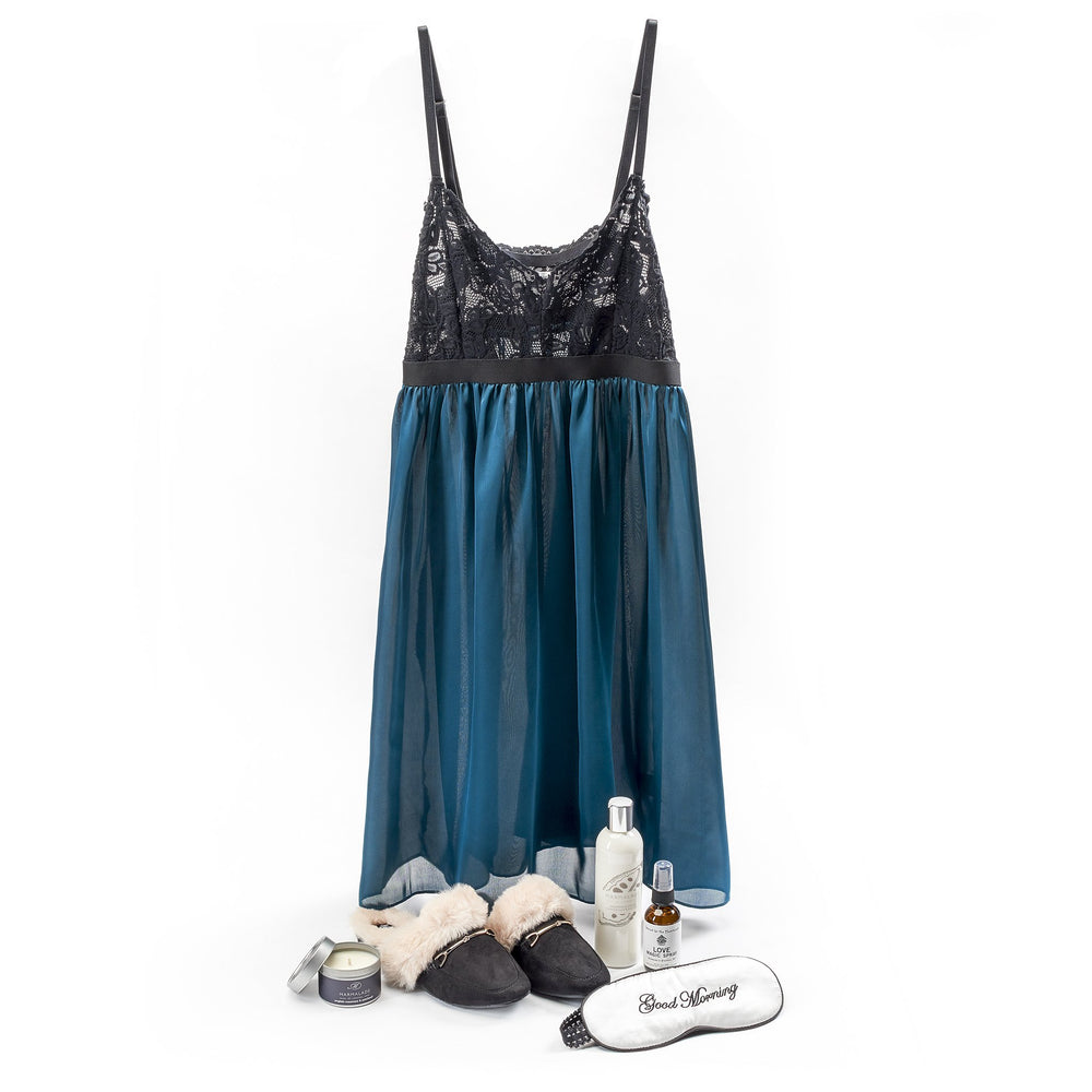 Romance & Relaxation - Teal/Black