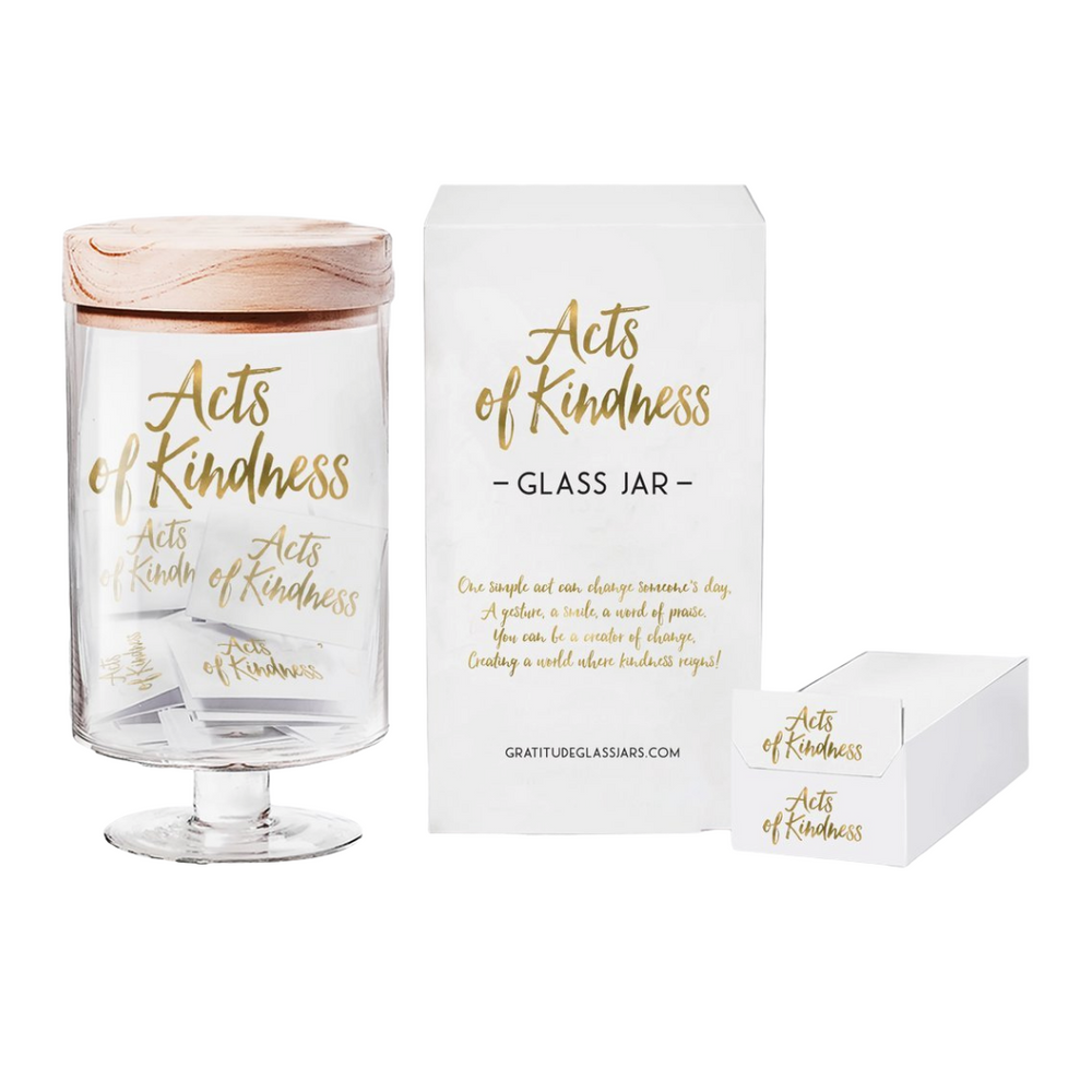 Acts Of Kindness Glass Jar