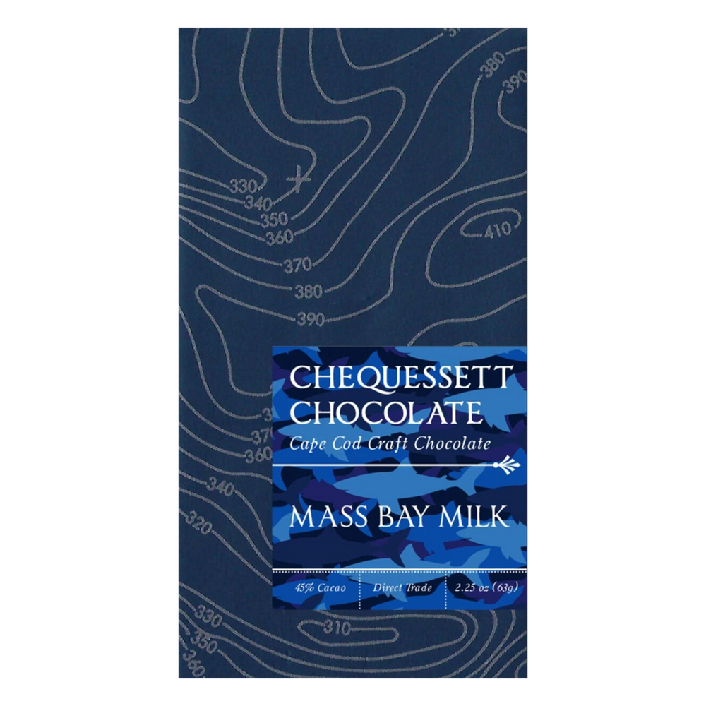 Mass Bay Milk Chocolate Bar