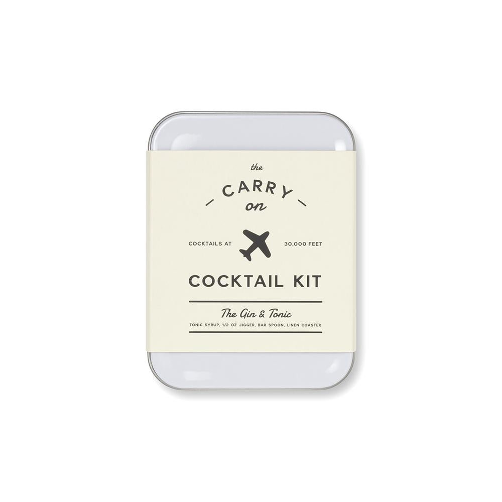 Gin & Tonic Carry on Cocktail Kit